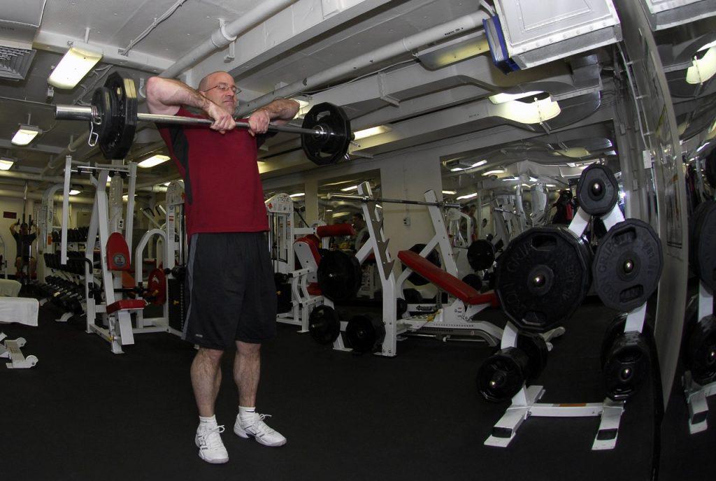 Musculation chez les seniors